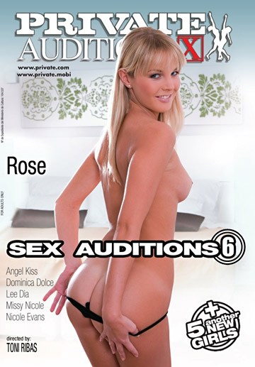 Sex Auditions 06: Rose-Private Movie