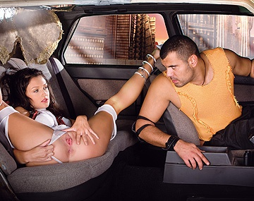 Private HD porn video: Teen Aletta Is in This Scene Bartering a Taxi Ride in Trade for Sex