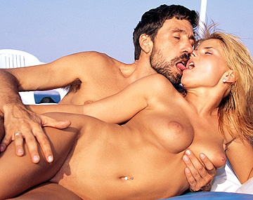 Private  porn video: While at Sea Alexa Schiffer and Blond Panni Fuck Their Ship Mates