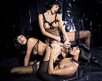 Private HD porn video: Lena Cova Suzie Carina and Zoe L Fox Lesbian Anal Sex with Dildos