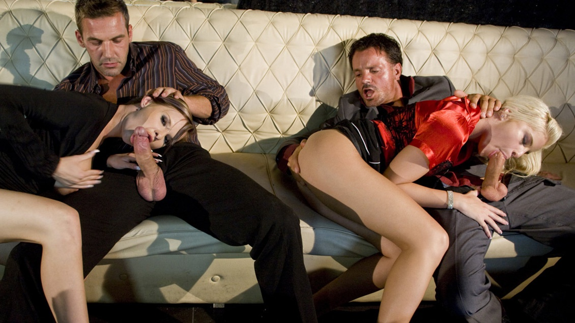 Tarra and Lulu Bring a Few Guys Home from the Club