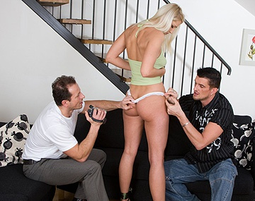 Private HD porn video: Joyce Has a Casting Audition Including a Threesome Fuck Session