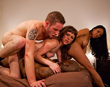 Private HD porn video: Interracial Swinger Party