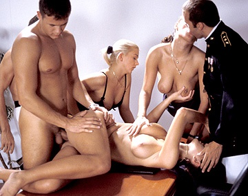 Private  porn video: Cristina Nicole Thomson and Noemi Get Caught Muff Diving by Their Boss