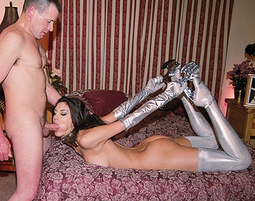 Private  porn video: Estella Massages Her Clit While in the Piledriver Position for Anal