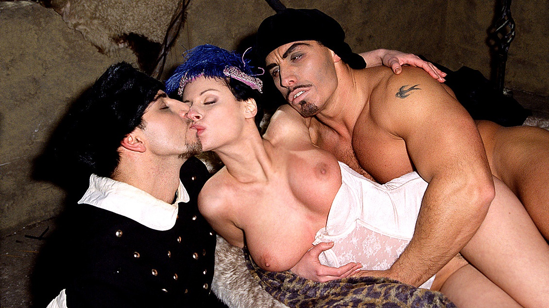 Michelle Wild in a Hardcore MMF Threesome with Blowjobs and a DP