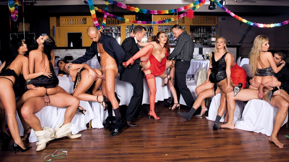 What Began as a Party for Diamond and Her Friends Turns into a DP Orgy