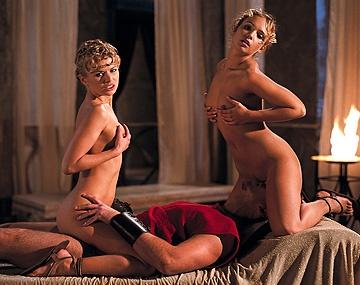 Private  porn video: Grandiosa orgía romana con Claudia, Dora y Tiffany