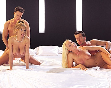 Private  porn video: Bisexuals Silvia Saint and Sonia Smith Enjoy Group Sex