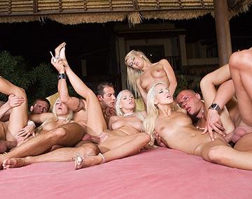 Private  porn video: Boroka Balls Jessica Girl and Friends in Interracial Orgy Sucking Dick