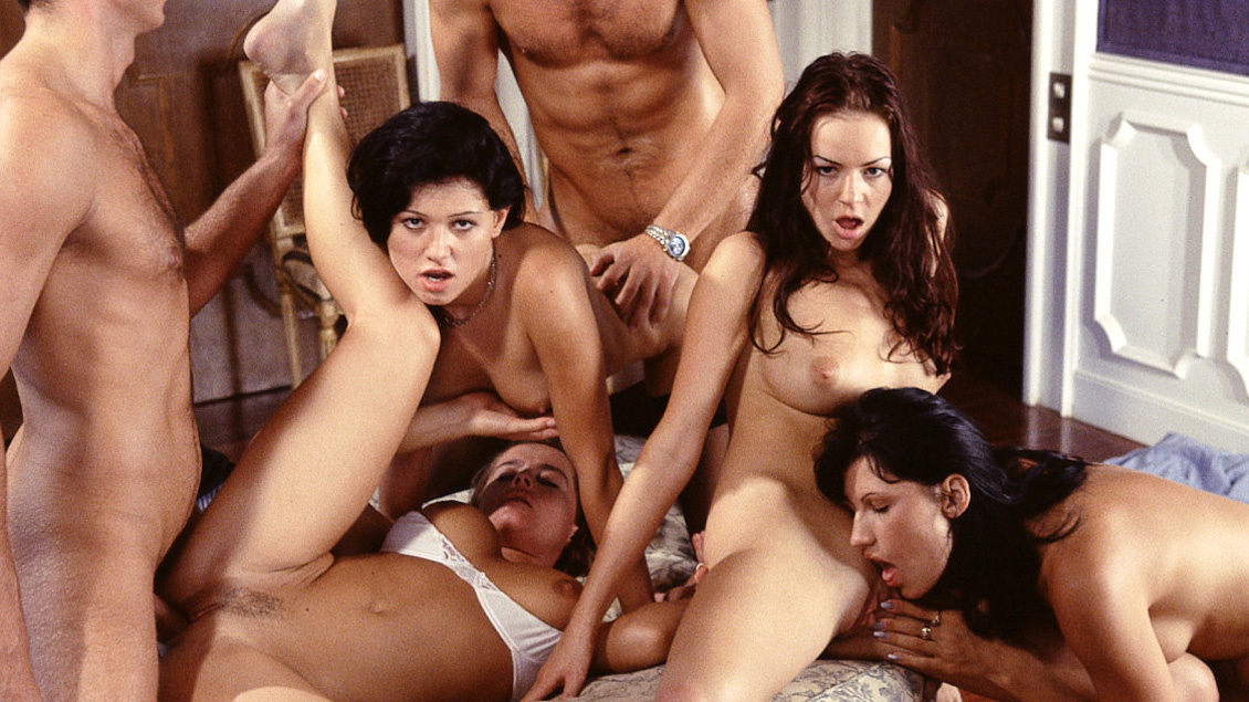 Huge orgy video