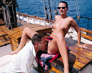 Private  porn video: Out on the Boat the Couple Watch Some Sea Life Then Have Good Sex