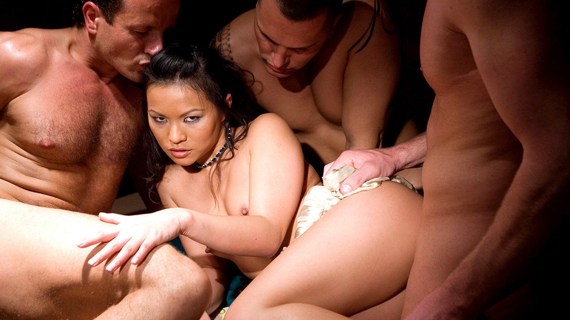 Amateur Wife Gangbang Party