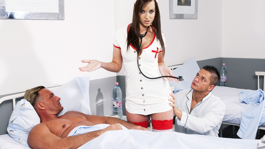 Asian Nurse Fucks Patient