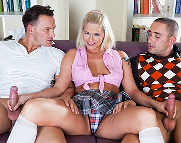 Private HD porn video: Simony Loves to Fuck Older Guys and Does in a Threesome Here