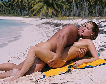 Private  porn video: Petra Short Gets Sand in Her Pussy While on the Beach Enjoying a Dick