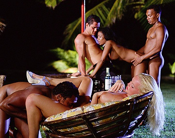 Private HD porn video: Hot Silvia Saint Gets Cunnilingus during Group Sex Orgy