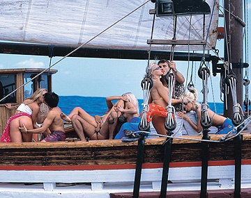 Private  porn video: Alexa Weix Maria Maya Gold Sandra Russo and Tina Wagner Orgy on Boat
