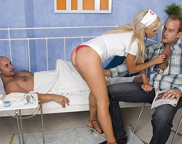 Private HD porn video: Tea Blondie Is One Nurse Who Can Make Any Men Feel Better