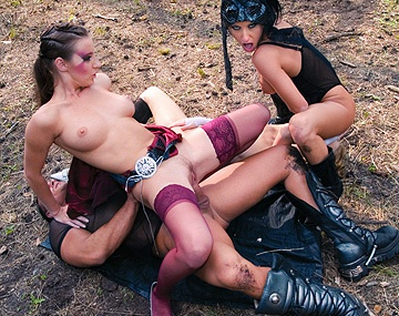 Private  porn video: A Forest Nympho Gives Judith Fox the Pounding of Her Life
