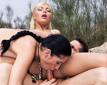 Private HD porn video: Emili Doll and Jennifer Love Have a Threeway While a Voyeur Looks On