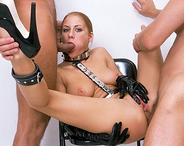 Private  porn video: Julia Taylor Lets Her Humongous Natural Jugs Swing While She Gets a DP