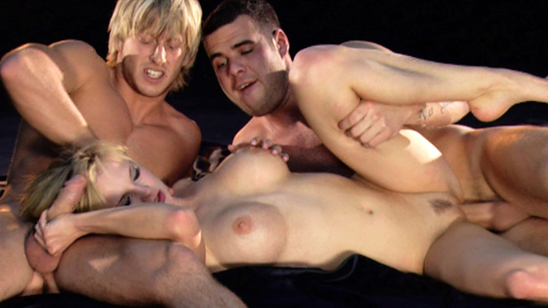 Tarra White Takes Care of Two Dicks at the Same Time in This MMF 3way