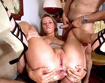 Private  porn video: Busty Krystal Is up for a Double Penetration by These Big Dicks