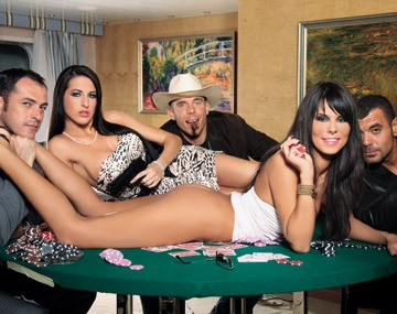 Private HD porn video: After a Card Game Things Get Hairy with Kortney Kane and Melanie