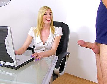 Private HD porn video: Office Slut Jessica Jensen Fucks the I.T Guy and Takes a Fat Cumshot