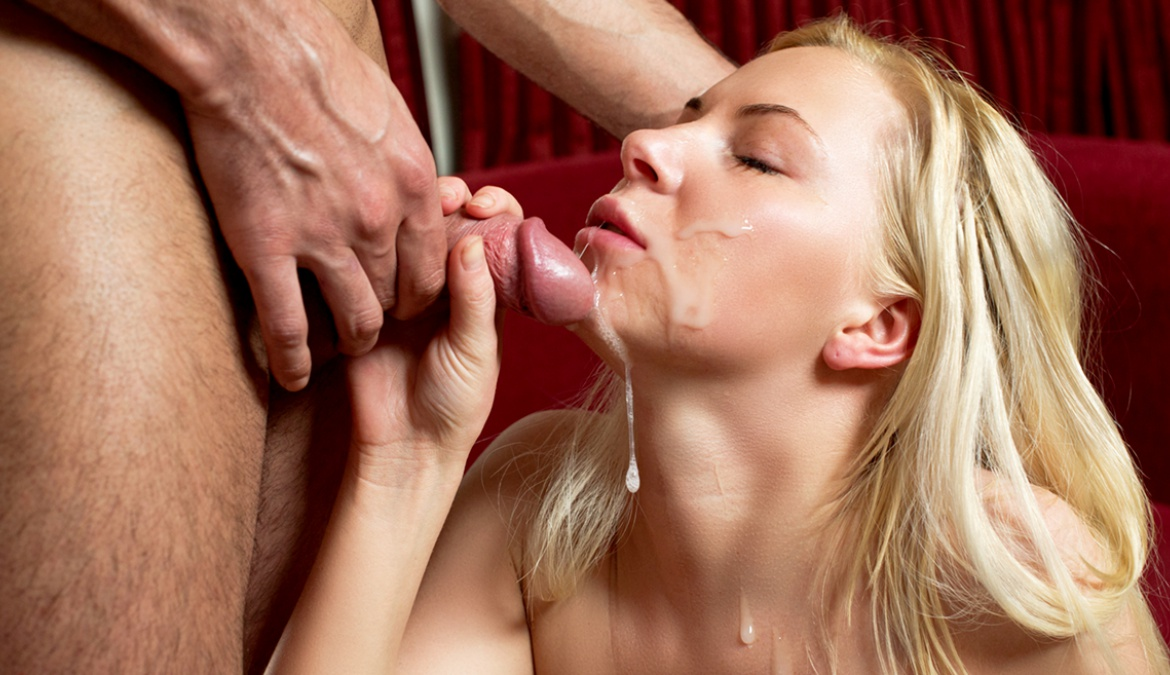 Hot Blonde Teen Gets Looses Her Anal Cherry and Loves It