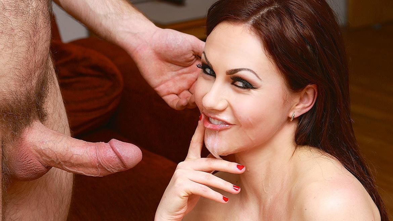 Perky Seductress Tina Kay Tempts Big Dick Into Her Tight Pussy