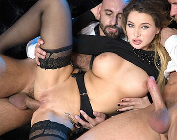 Private HD pon video: Perky Tit Anna Polina Gets Some Rough DP