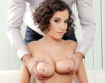 Private HD porn video: Ana Bell Evans Wants Cum on her Big Natural Tits