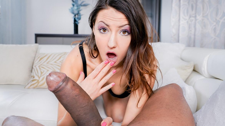 Teen Enjoys Interracial Fuck with Rimming