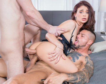 Private HD porn video: Kate Rich Enjoys DP Threesome for her Cuckold Husband