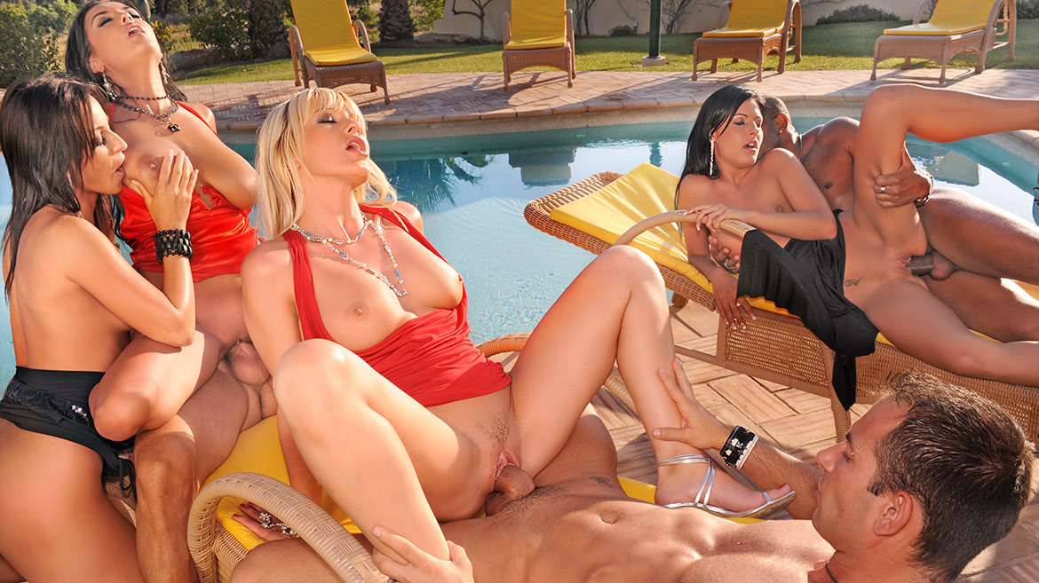 Orgy at the Villa, the Final Orgy