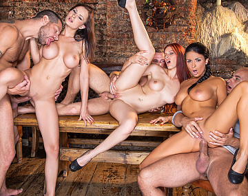 Private HD porn video: Pornstar Trio In Group Sex Scene